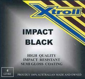 Xtroll Impact Black Paint