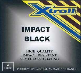 Xtroll Impact Black Paint
