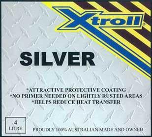 Xtroll Silver reflective paint