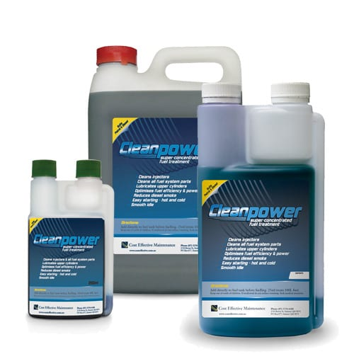 Cleanpower fuel treatment