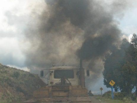 Black Diesel smoke
