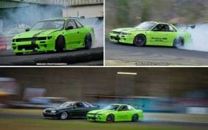 Drift racing car using AW10 Antiwear