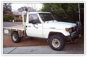 Toyota landcruiser useing Cost Effective Maintenance Products .