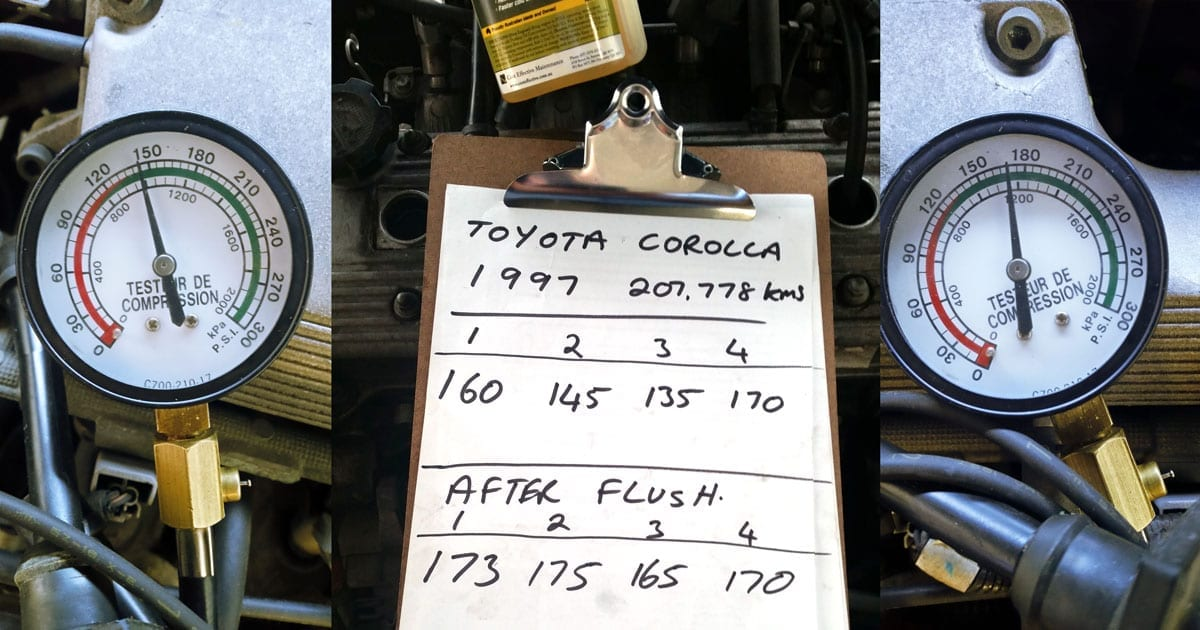 Fix low compression on a Toyota engine – Cost Effective