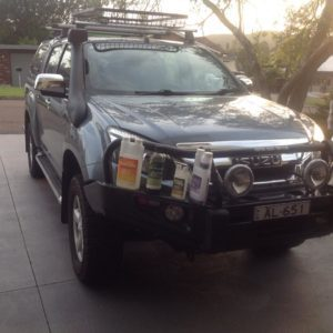 Isuzu Dmax using CEM products