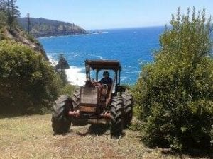 Tractor uses CEM products