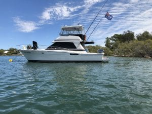Luxury Boat blowing no smoke after using FTC Decarbonizer