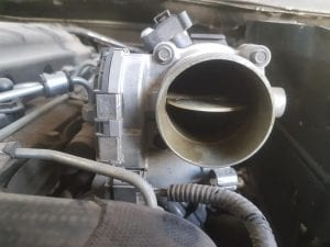 Clean Throttle Body due to using FTC Decarbonizer