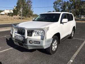 Toyota Prado running well after using Cost effective maintenance products.