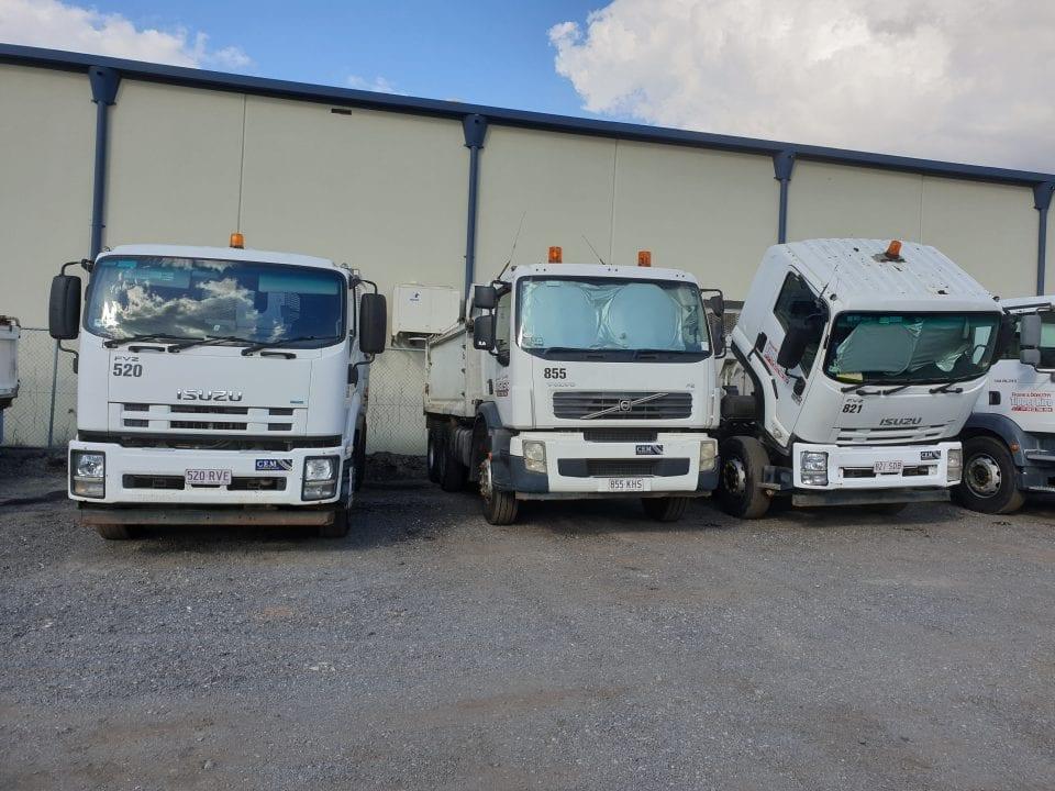 Tipper Trucks using Bulk Fuel Treatment