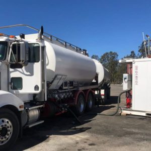 Bulk Fuel treated with CEM Products