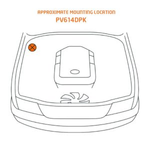 Toyota 200 Series Mounting Location