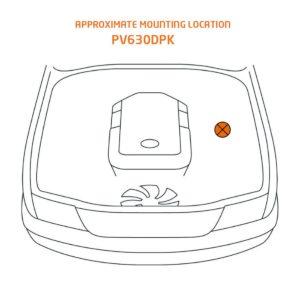 Nissan Navara Fitting Location PV630DPK