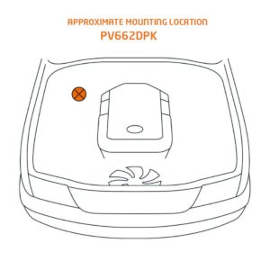 Toyota Hilux Mounting Location